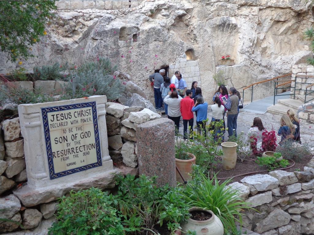 The Garden Tomb?